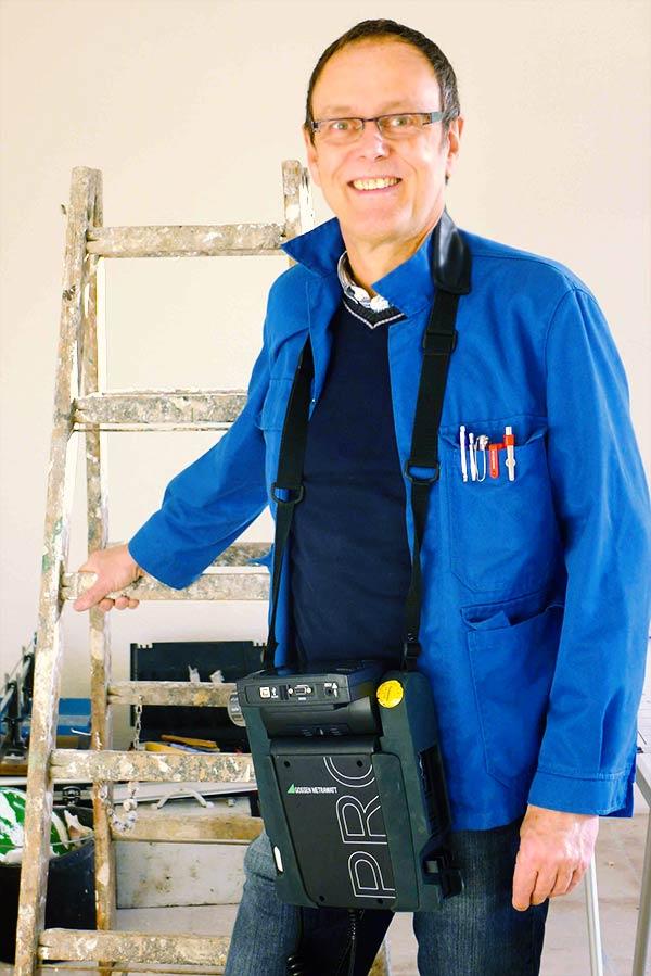 Elektromeister Klaus Berkenbusch - Spezialist für DGUV-V3-Prüfungen
